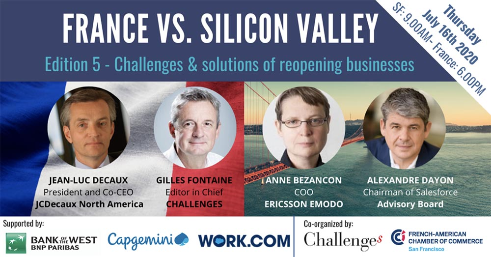 France Vs. Silicon Valley: Challenges & Opportunities of Reopening Businesses after COVID-19