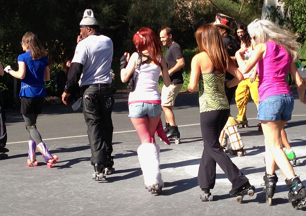 Roller Disco on Friday Nights in the Golden Gate Park