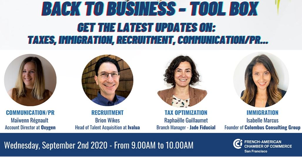 "Webinar FACCSF: Back to Business ""Tool Box"""