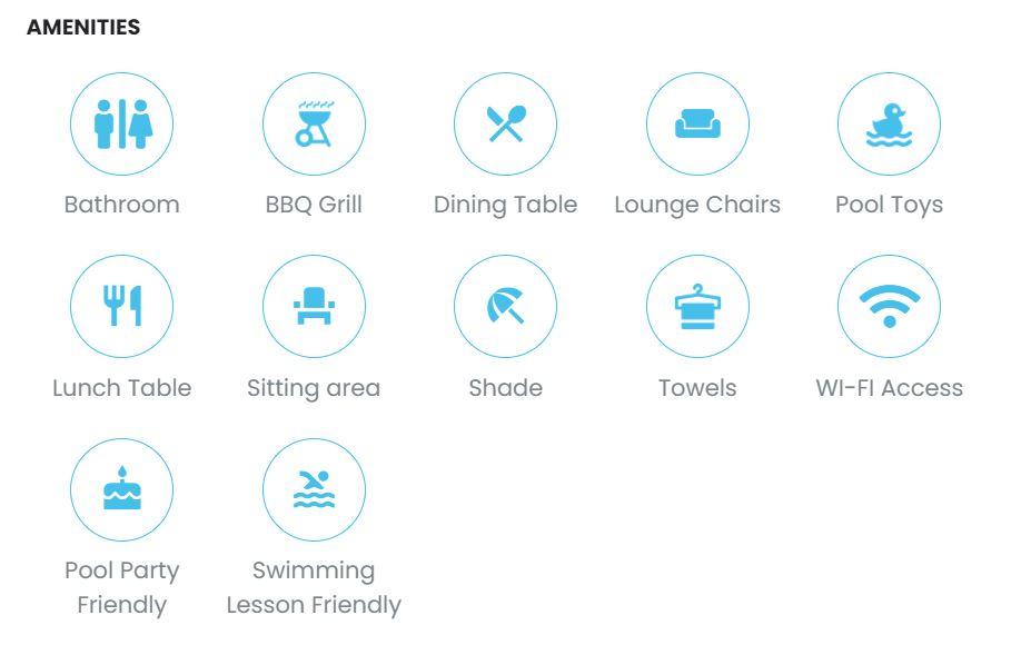 airbnb piscine privée
