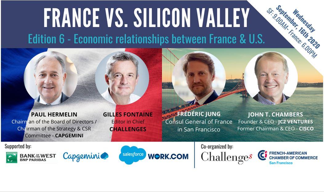 France vs Silicon Valley: Relation économiques entre la France et les US