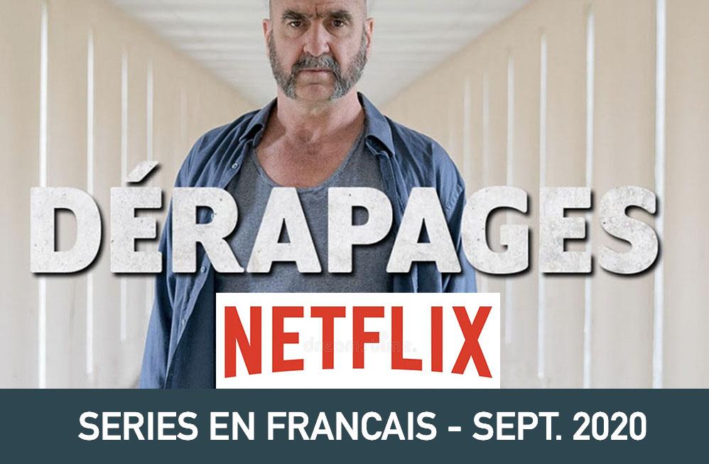 Notre sélection de séries sur Netflix en Septembre 2020