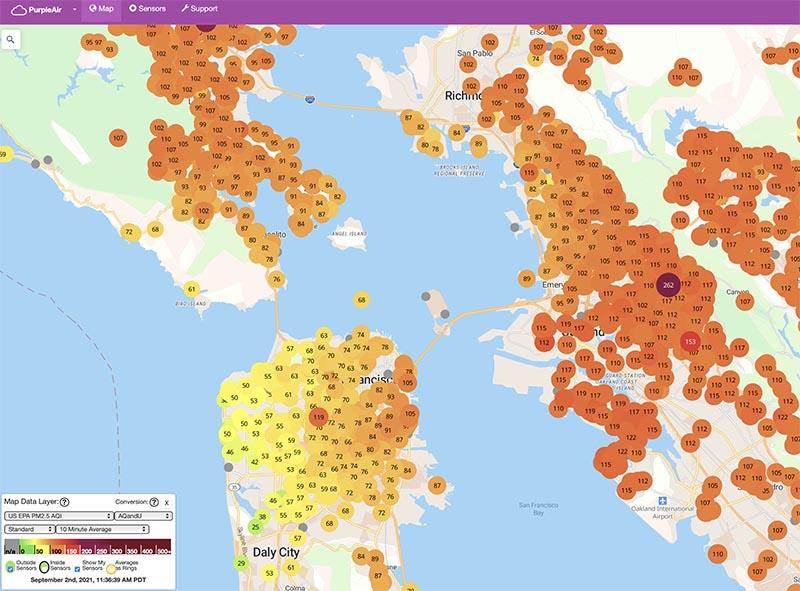 air quality san francisco