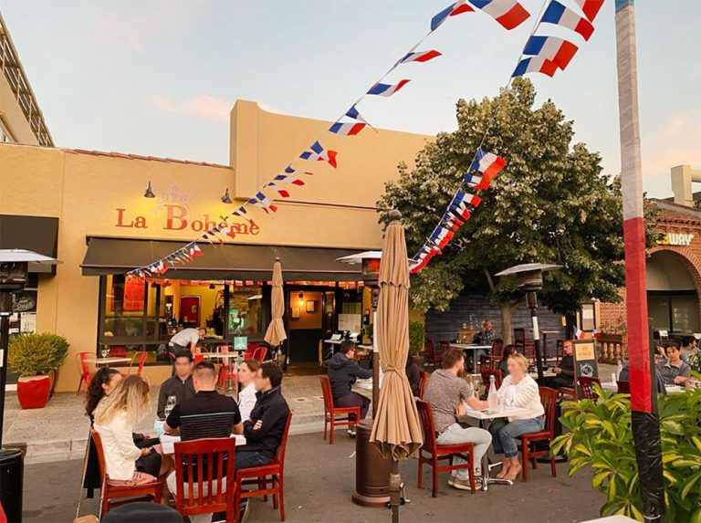 Restaurants français terrasses