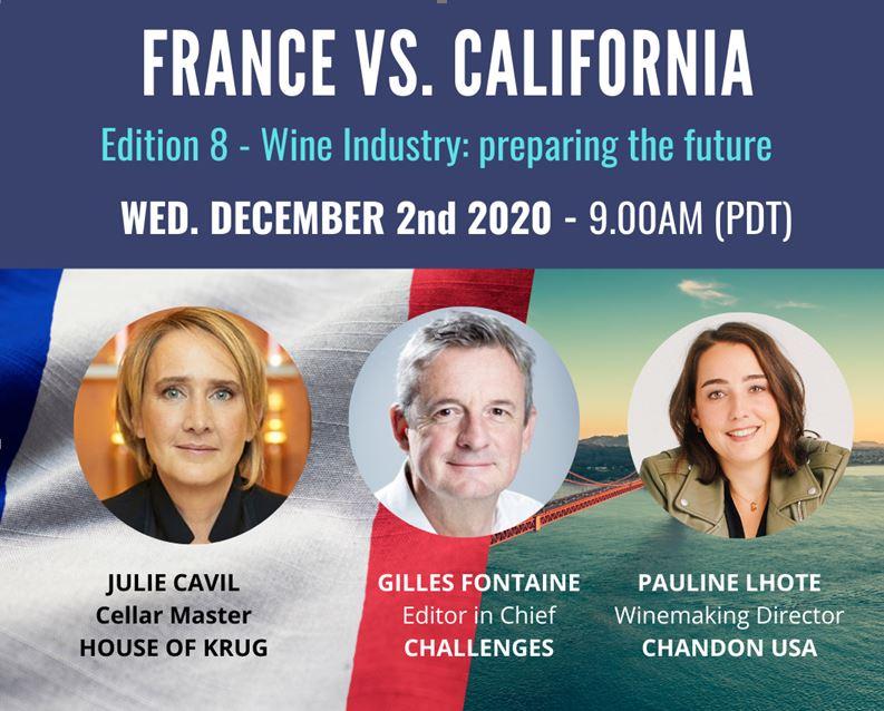 Webinaire FACCSF – Comment l'industrie du vin prépare le futur
