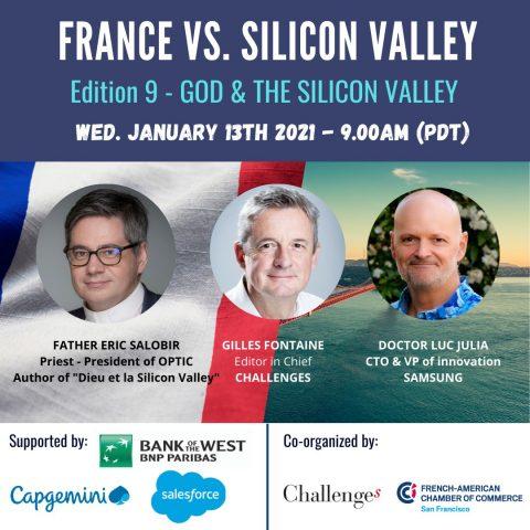 Webinar FACCSF – Dieu et la Silicon Valley