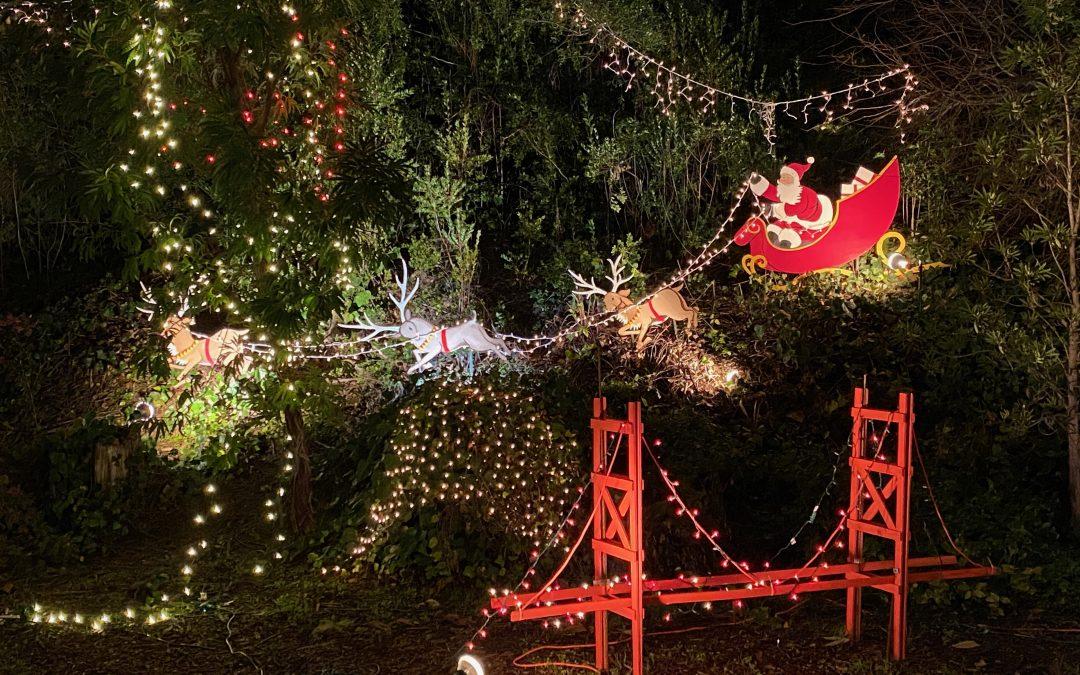 Maisons illuminées pour les fêtes : où les trouver dans la Baie de San Francisco