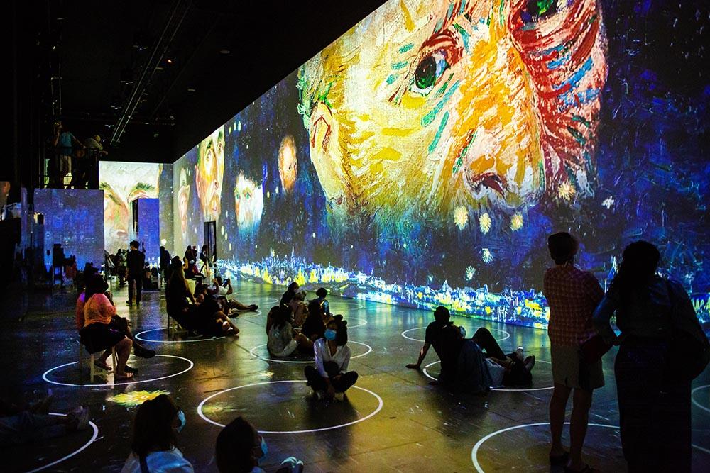 Atelier des Lumières – Immersive Van Gogh in San Francisco