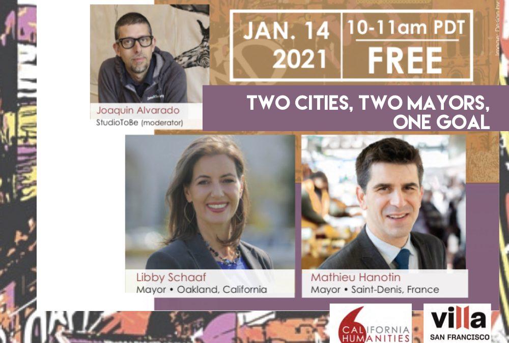 City/ Cité : Deux villes, deux maires, un objectif