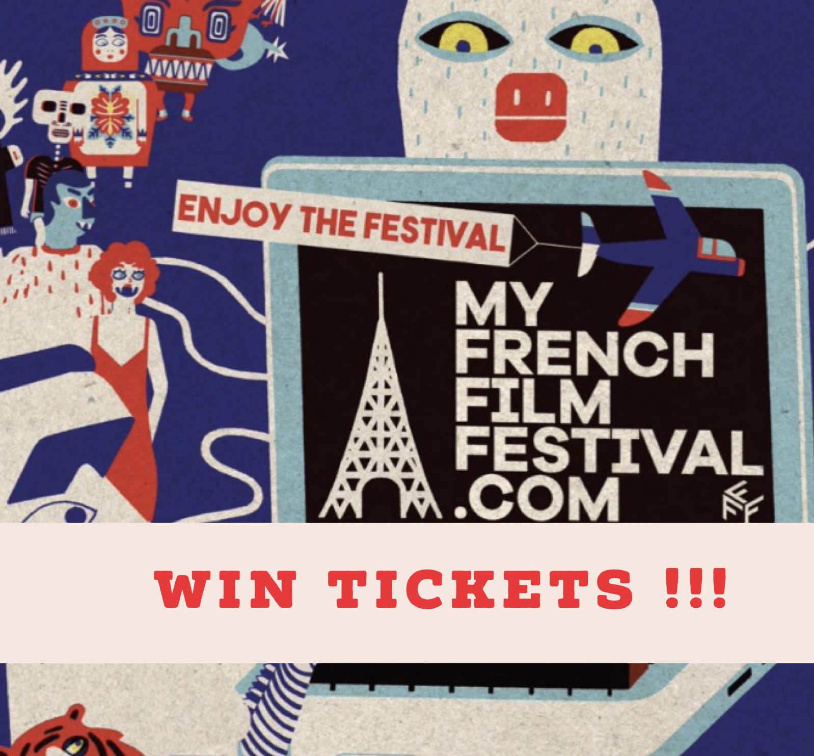 MyFrenchFilm festival Giveaway
