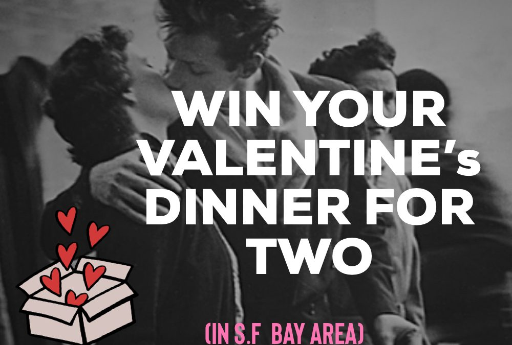 Enter our Valentine's draw… Dinner is on us!