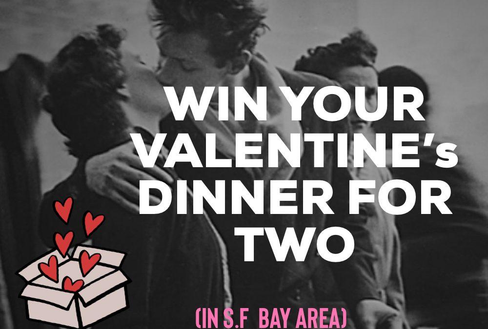 Jouez et gagnez votre diner de la Saint Valentin !