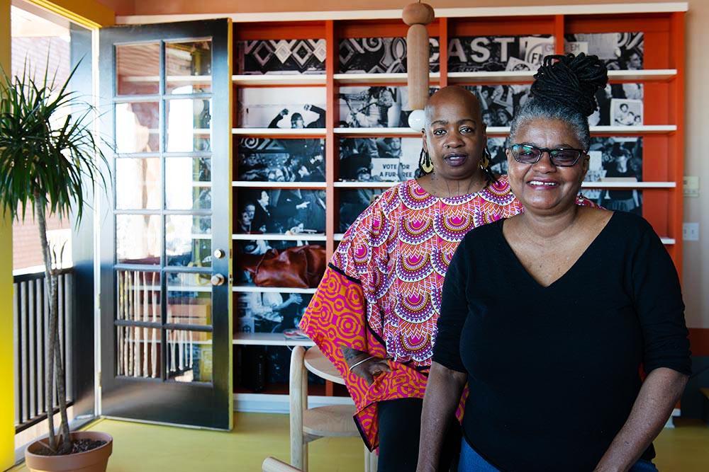 Angela Wellman et Ashara Ekundayo @VillaSF