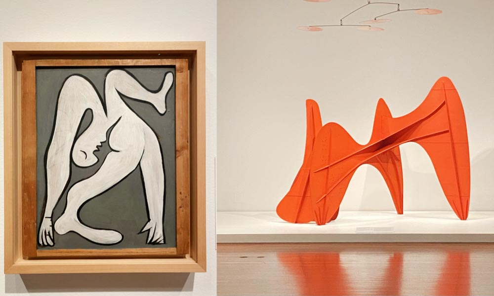 Expo Calder et Picasso pour la réouverture du musée De Young