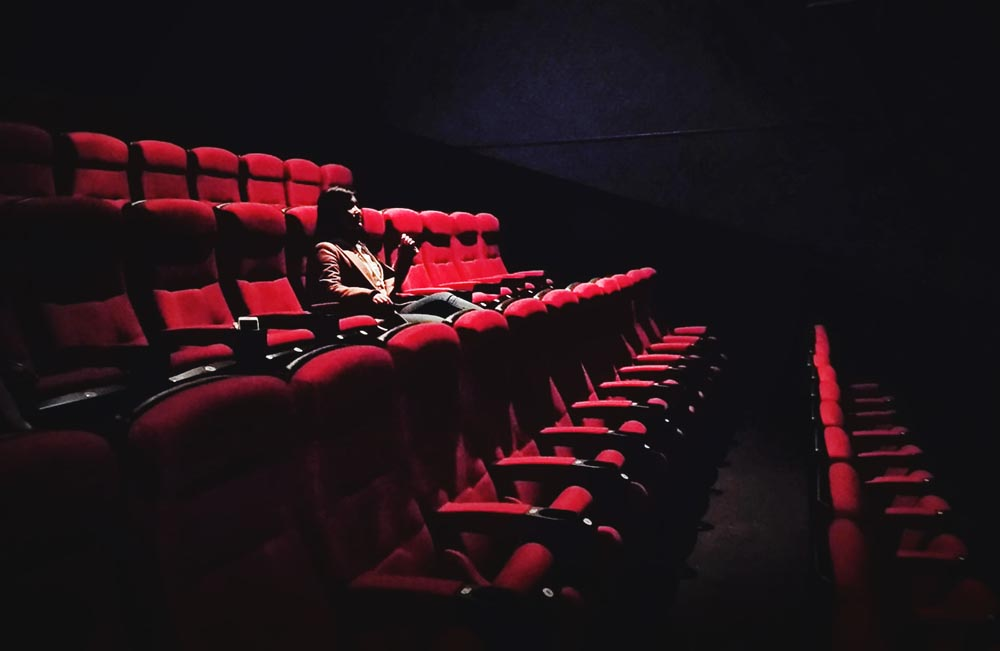 Book your own private screening in a movie theater