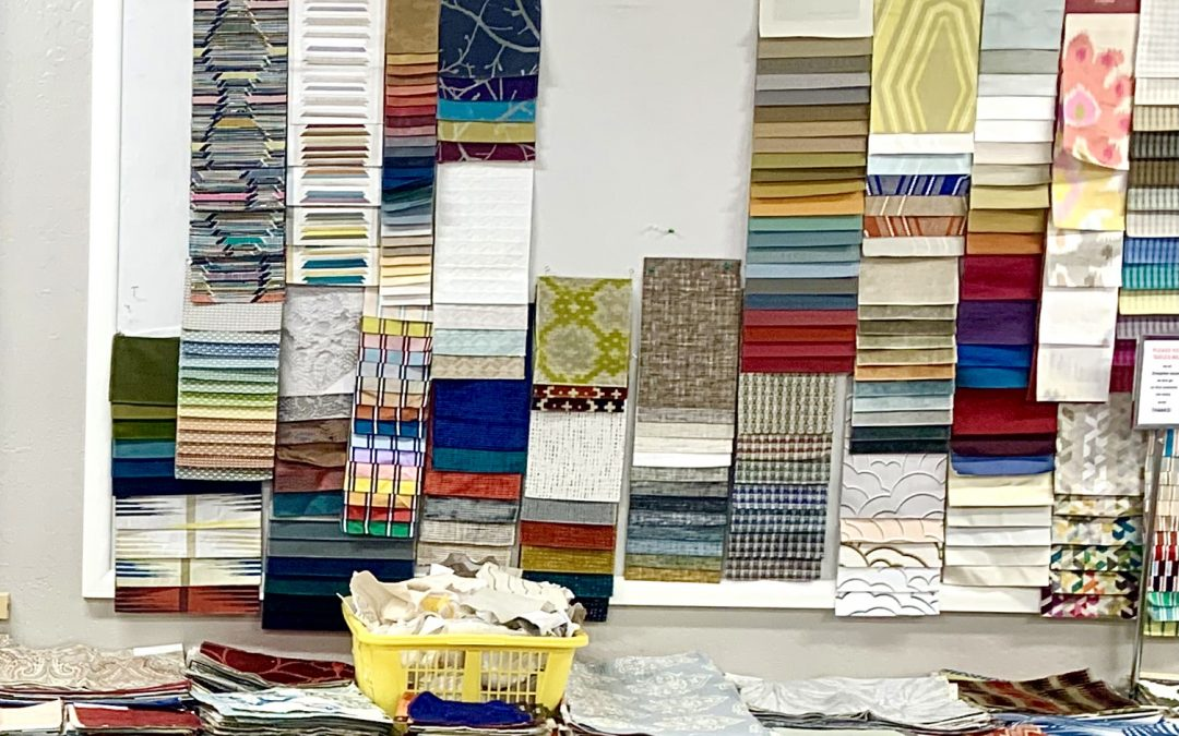 Calling all crafters! FabMo, a hidden treasure trove of fabrics