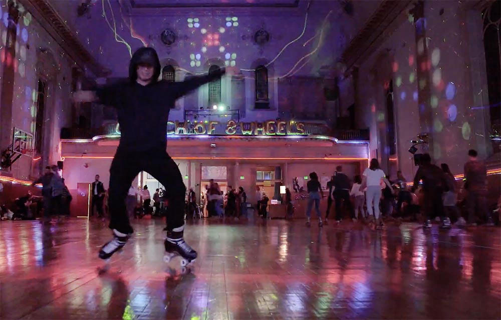 Let's Roll with Roller Disco at Church of 8 Wheels
