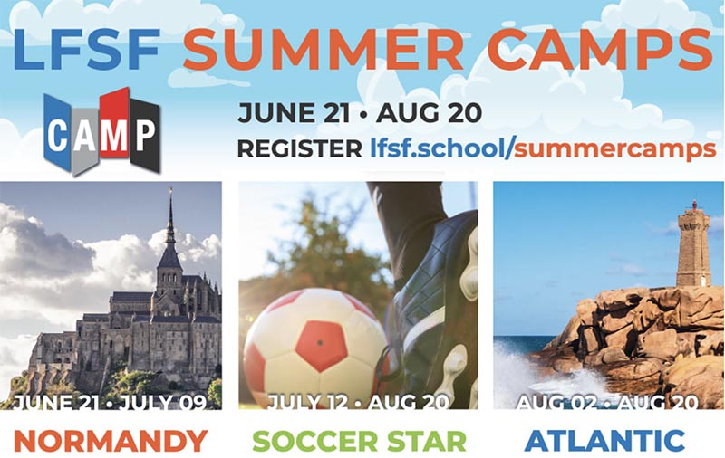 summer camps LFSF 2021