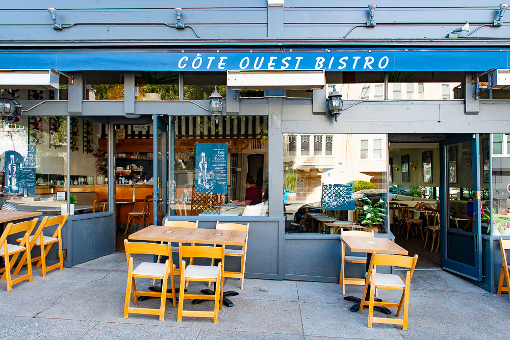Cote Ouest, the new French Bistro in Cow Hollow
