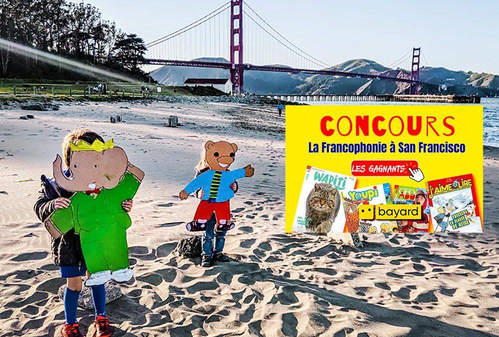 Résultats du Concours de la Francophonie avec Bayard-Milan