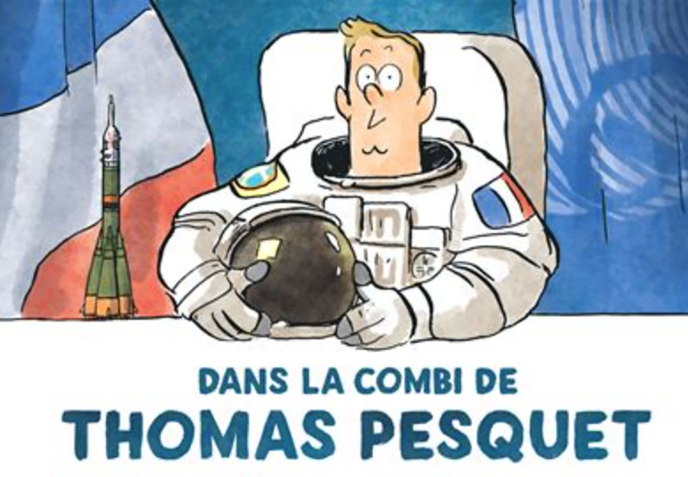 A book club dedicated to French-language graphic novels