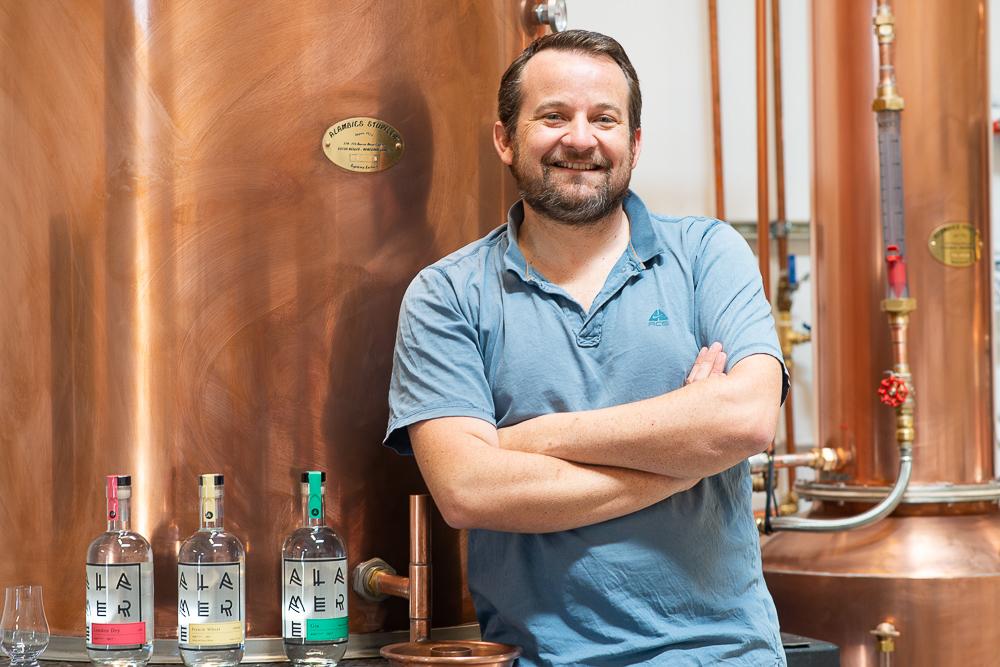 Alamere, quand un Breton se met au gin et à la vodka !