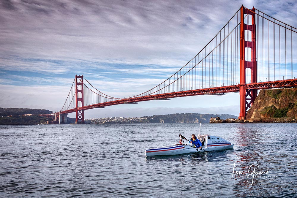 A Frenchman Prepares to Cross the Pacific Ocean Solo with His Kayak
