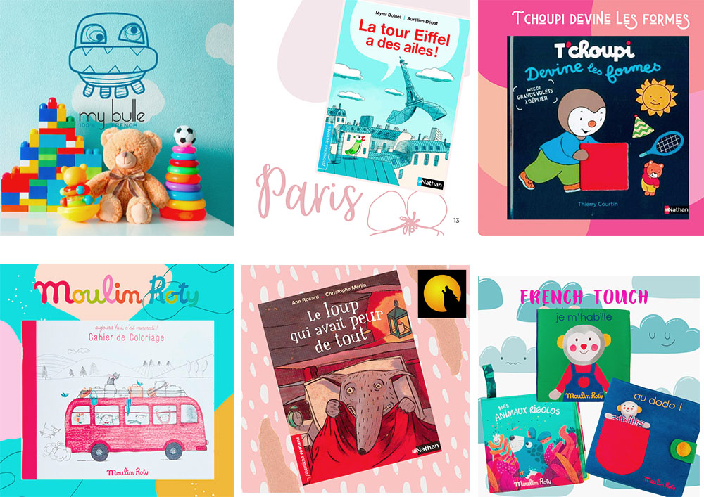 My-Bulle, easily accessible French Books and Toys in the US