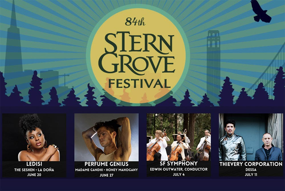 Stern Grove 2021 Line up