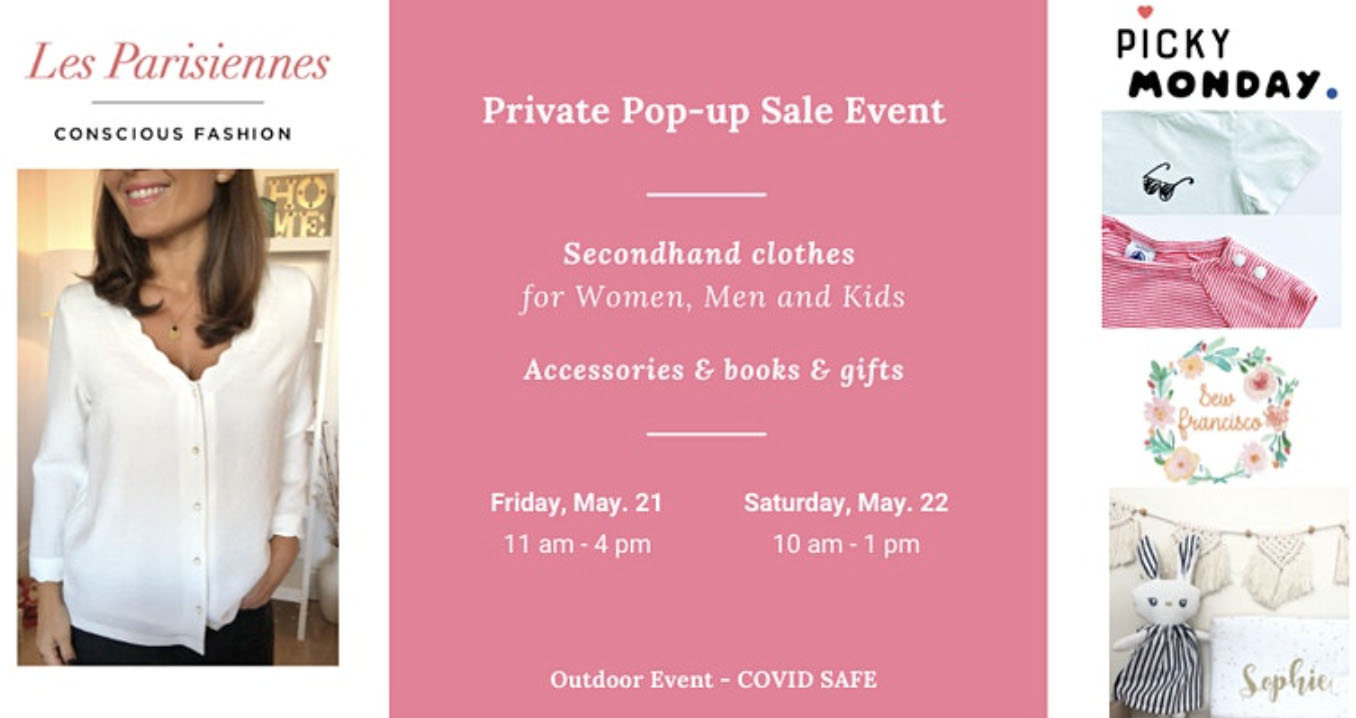 Conscious Fashion Pop-Up Sale with Les Parisiennes