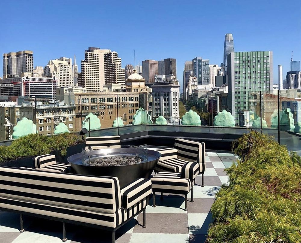 Rooftops in San Francisco for a brunch, a cocktail or a diner