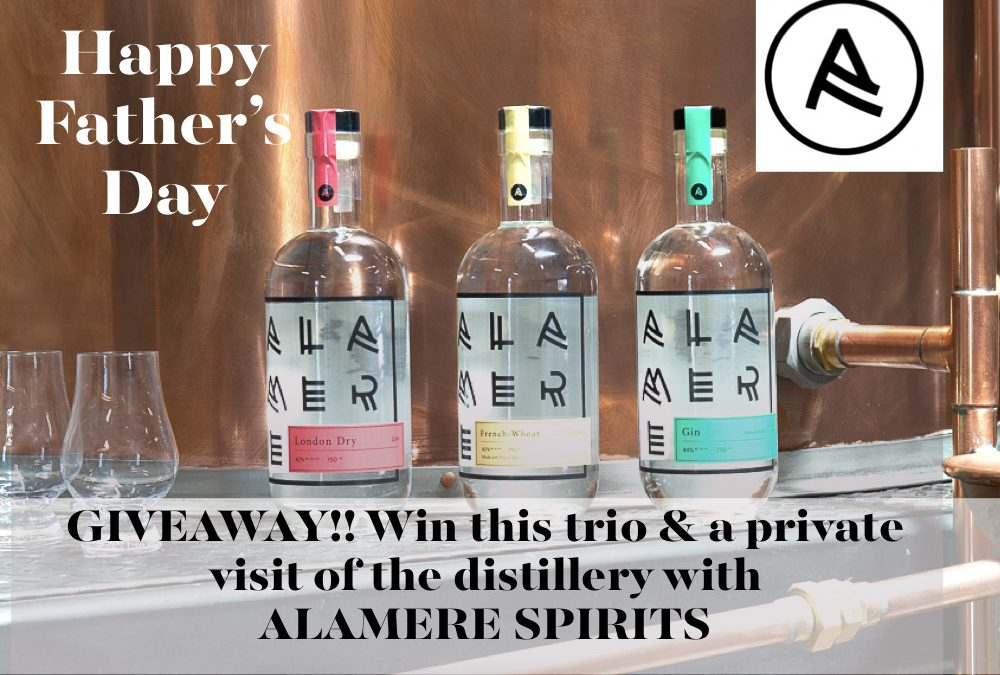 Father's Day 2021 Giveaway with Alamere Spirits