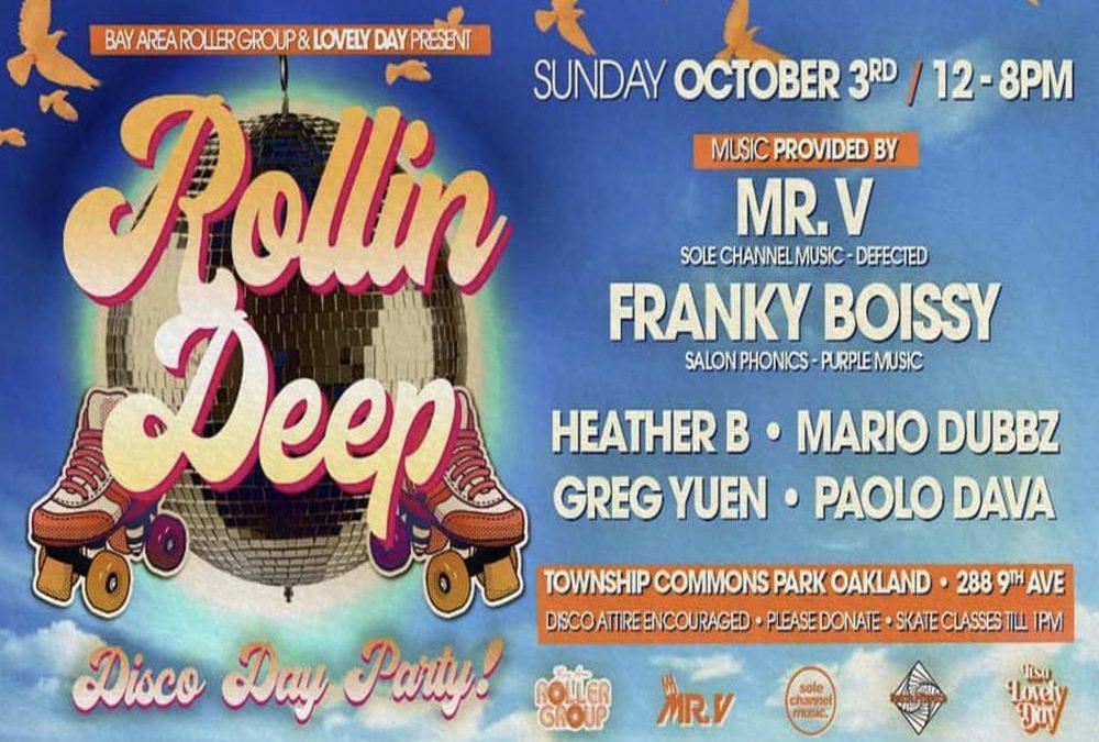 Roller Disco on Sunday with French DJ Franky Boissy
